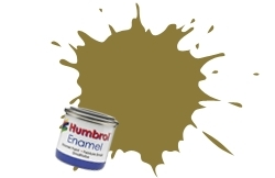 HUMBROL NO.93 MATT DESERT YELLOW ENAMEL PAINT 14ml