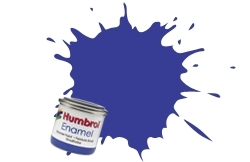 HUMBROL NO.96 MATT RAF BLUE ENAMEL PAINT 14ml