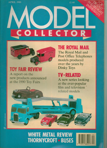 ORIGINAL MODEL COLLECTOR MAGAZINE April 1990