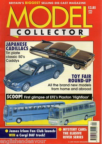 ORIGINAL MODEL COLLECTOR MAGAZINE April 1999
