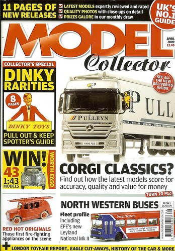 ORIGINAL MODEL COLLECTOR MAGAZINE April 2009