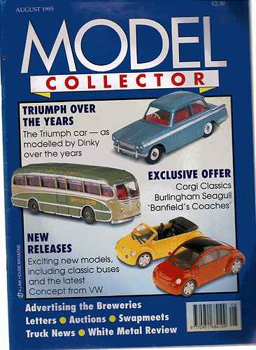 ORIGINAL MODEL COLLECTOR MAGAZINE August 1995