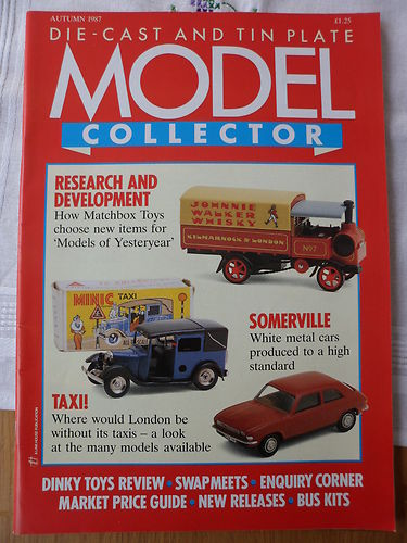 ORIGINAL MODEL COLLECTOR MAGAZINE Autumn 1987