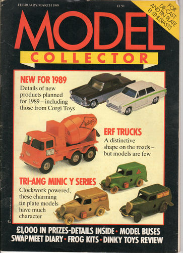 ORIGINAL MODEL COLLECTOR MAGAZINE February 1988 / March 1988