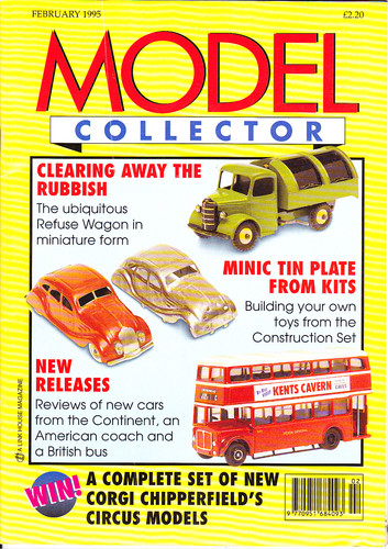 ORIGINAL MODEL COLLECTOR MAGAZINE February 1995