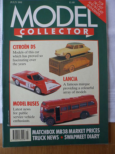 ORIGINAL MODEL COLLECTOR MAGAZINE July 1991
