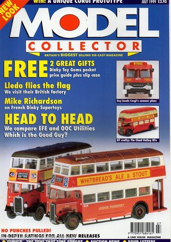 ORIGINAL MODEL COLLECTOR MAGAZINE July 1999