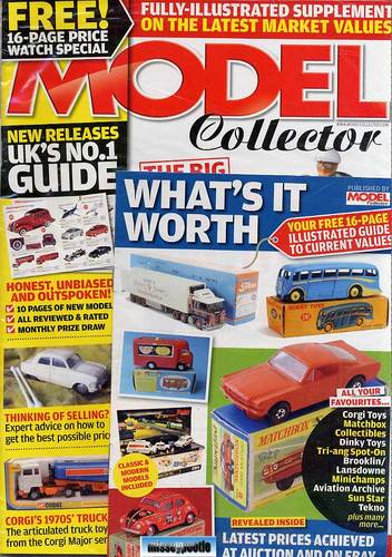 ORIGINAL MODEL COLLECTOR MAGAZINE July 2011