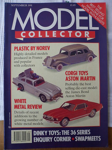 ORIGINAL MODEL COLLECTOR MAGAZINE September 1991