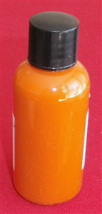 "Computer Matched 50ml Bottle of ""Deep Orange"" brush paint for Dinky Toys Fodens"