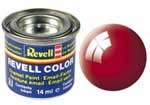 REVELL NO.31 FIERY RED GLOSS ENAMEL PAINT 14ml